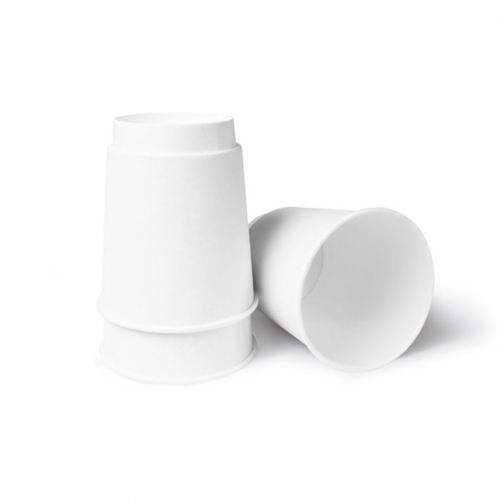 Стакан бумажный двухслойный белый 250 мл