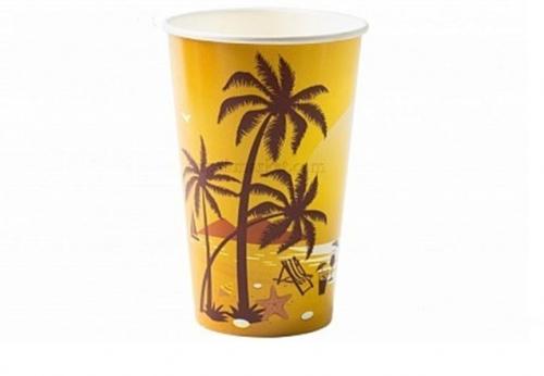 Стакан бумажный для холодных напитков